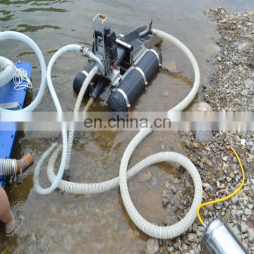 river sand mining equipment white egg separation machine trash collection boat