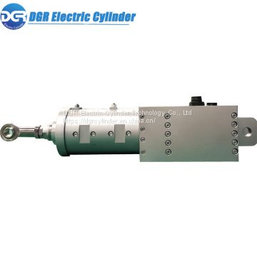 200KN Large Thrust 800mm / s Fast Push-pull Electric Cylinder for Automatic Assembly Machinery