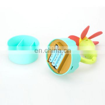 Novel design flowers electric usb mini fan toy for good sale