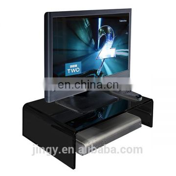 funky high end acrylic bedroom led tv stand tv table