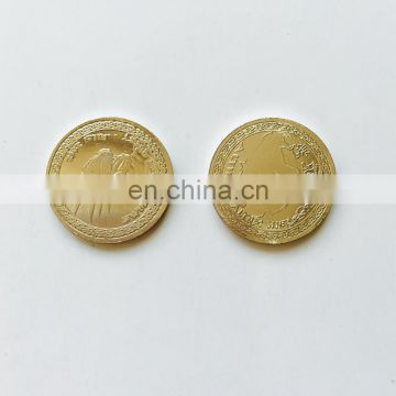 sport game metal coin