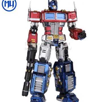 3D Puzzle Metal Model jigsaw puzzle Transformers Optimus