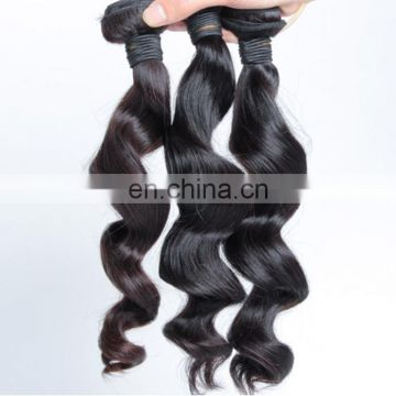 Natural loose wave malaysian hair