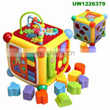 Activity Centers for Babies To Learn and Discover - Activity Cube with Bead Maze - Toy For Kids - Educational Activity Tables