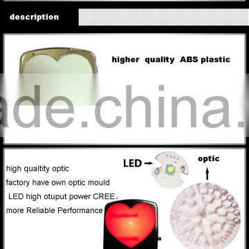 colorful and romantic led car door logo projector lamp led car light to advertising