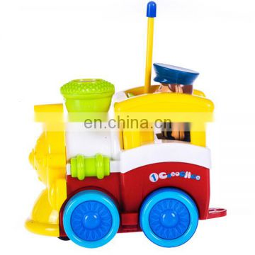 Lovely design 2 channel mini cartoon rc train toy