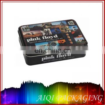 High quality game puzzle tin box,game card tin box