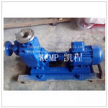 cast iron material horizontal self priming dirty water pump
