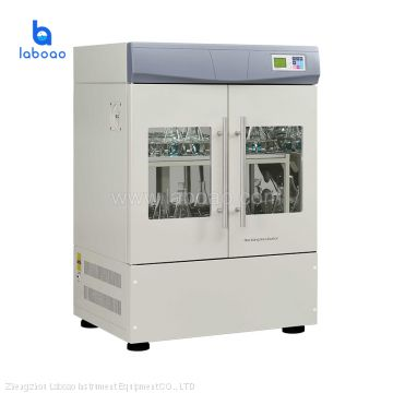 laboratory vertical double incubater shaker machine price
