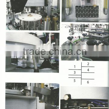 Full automatic rotary cold glue beer bottle labeling machine HL2B-10