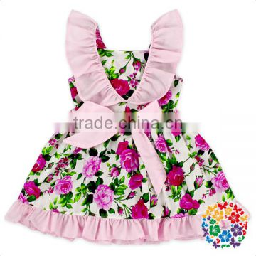 be66012ed011 2017 Hot Fashion Baby Girl Floral Dress Summer Girls Party Evening ...