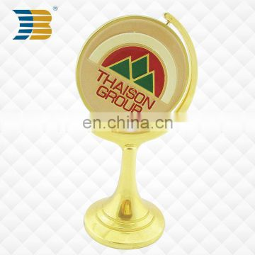 high quality custom metal trophy with custom logo manufacturer