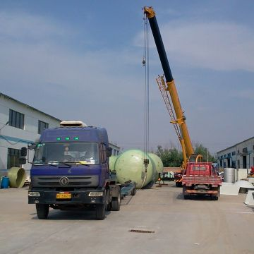Toilet Waste Water Treatment Frp Chemical Storage Tanks Chemical Liquilds Waste Water