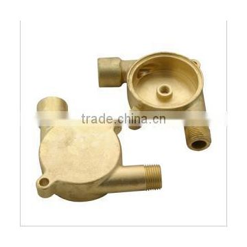 Custom Brass Casting for Pump Parts