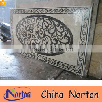 Decorative lobby/foyer cheap floor marble medallions NTMS-MM015A