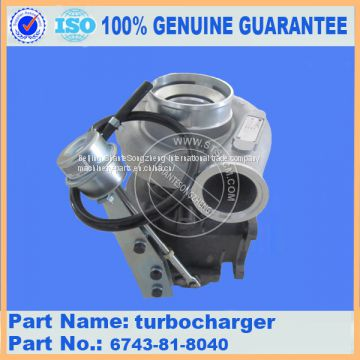 PC300-7 engine turbocharger 6743-81-8040 with stock available