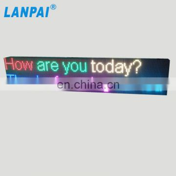Direct manufacturer outdoor advertising Programmable Led Display Electronic Led moving sign Led Digital Board