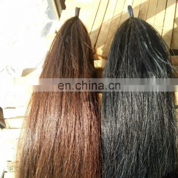 decorative horse tail hair Horse tail extensions for sell with cap fake horse tail for sell