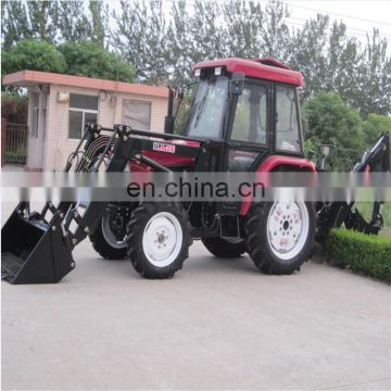 Chinese Agricultural equipment MAP45 4WD Mini tractor farm tractor with front end loader