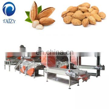 Whole Productin Line Almonds Shelling Machine Sheller Removing Machine
