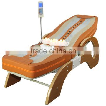 XT-168-1D MP3 Music Medical Automatic Infrared Therapy Heating Portable  Thai Roller Hot Stone Electric Thermal Jade Massage Bed
