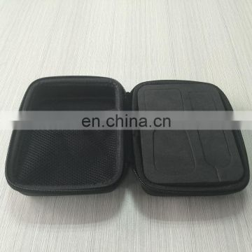 Nice quality rigid black EVA foam bag, eva cosmetic bag,EVA plastic bag