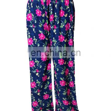 Stylish 2017 Party Wear Palazzo / Women's Floral Printed Palazzo Pants 2017