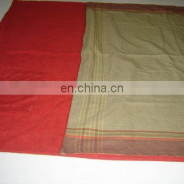 100% Cotton Yarn Dyed Pareo with 100% Polyester Knitted Towel can be used in Beach & Pool
