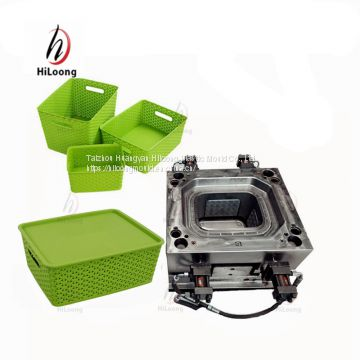 professional plastic injection molding basket mold maker