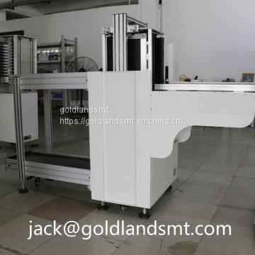 Automatic PCB magazine unloader machine for SMT assembly production line