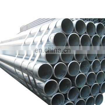 Hot dip galvanized round steel pipe  GI pre galvanized steel pipe for construction