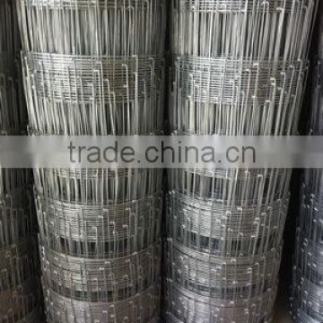 ISO9001 certificated Grassland fence/Green coated fence/square wire mesh fence (Anping low price)