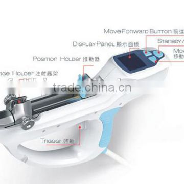 Newest Hydrolifting water mesotherapy meso gun vacuum injection needle multifunctional mesotherapy beauty device CE
