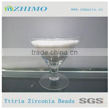 good corrosion-resistance zirconia beads for jet ink milling