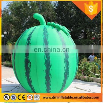 inflatable watermelon with CMYK print for promotion toys