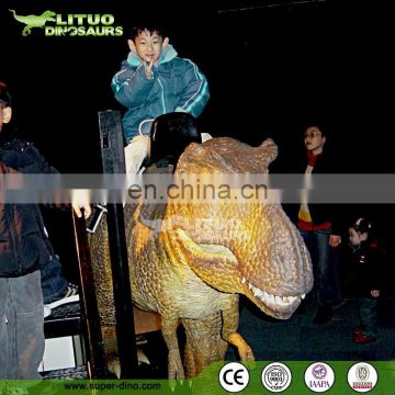 Popular Walking Coin Operated Dinosaur Rides