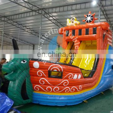 Funny Inflatable Slide Pirate Ship