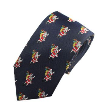 White Printed Mens Jacquard Neckties Solid Colors High Manscraft