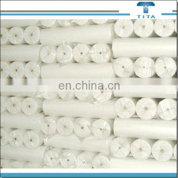 Polyvinyl alcohol Hot Water Soluble Nonwoven Fabric,dissolves in 90 high degree