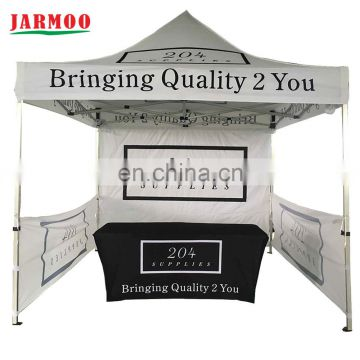 custom sublimation printed trade show table cover