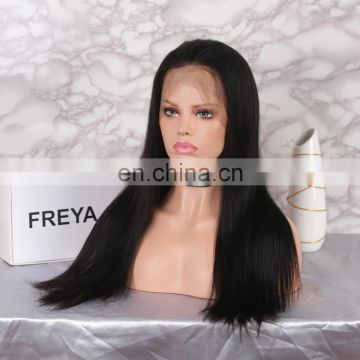 Natural Color Virgin Brazilian Curly Human Hair Lace Wig 360 lace frontal wig