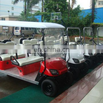 Classical design 6 person golf cart electric passenger school bus whosale