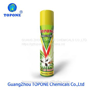 Topone Brand 300ml OEM household product insecticide aerosol spray