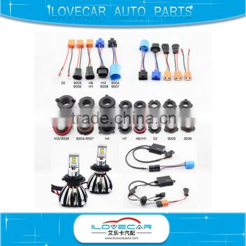 Excellent quality LED headlight conversion kit,canbus systemm superior beam pattern H7