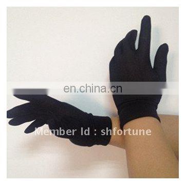 Thermal skiing raw silk inner gloves