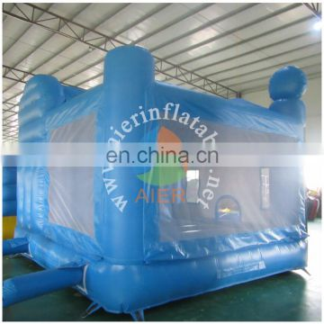 2016 Aier inflatable castle / bounce castle with slide / inflatable bouncy slide