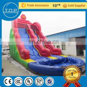 TOP service jumping giant slide inflatable obstacle course made in China