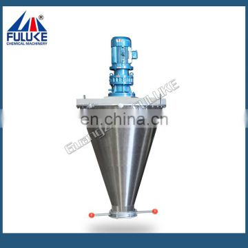 FJM Industrial high efficiency V type chemical powder mixer, chemical mixing machine