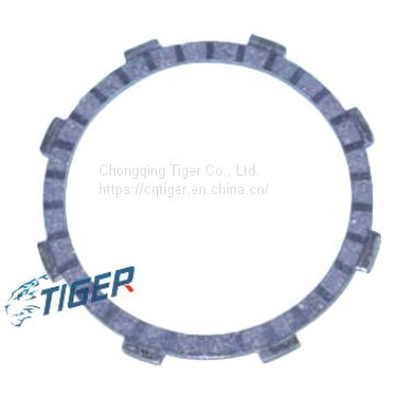 Motorcycle clutch friction plate, factory price for model RX-125 DX-100