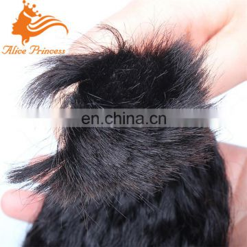 Princess Human Hair Kinky Straight Bulk Russian Braiding Human Hair Bulk No Weft